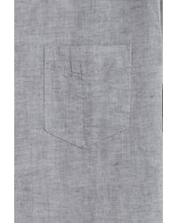 Rag & Bone - Gray Ventura Shirt for Men - Lyst