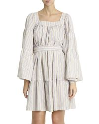 Lisa Marie Fernandez - Multicolor Peasant Dress - Lyst