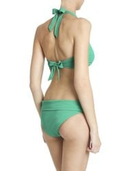 Heidi Klein - Green Bar Bikini Top - Lyst