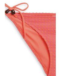 Heidi Klein - Pink Tie Side Bikini Bottom - Lyst