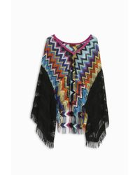 Missoni | Multicolor Zigzag Lame Kaftan Top | Lyst