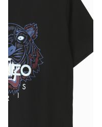 KENZO - Black Iconic Tiger T-shirt for Men - Lyst