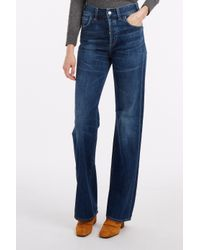 Citizens of Humanity - Blue Vera Wide Leg Flare Jeans - Lyst