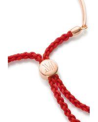 Monica Vinader | Metallic Fiji Friendship Bracelet | Lyst