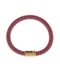 Carolina Bucci - Multicolor Yellow Gold Twister Bracelet - Lyst