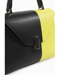 Valextra - Multicolor Iside Media Colour Block Bag - Lyst