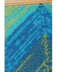Missoni - Blue Small Wool Pochette - Lyst