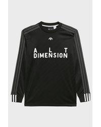 Adidas Originals - Black Adidas Originals By Alexander Wang Soccer Top for Men - Lyst