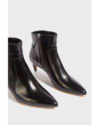 Isabel Marant Black Deby Leather Ankle Boots