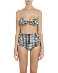 Lisa Marie Fernandez - Multicolor Poppy Plaid Bikini Set - Lyst