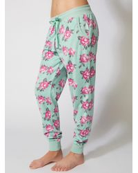 Boux Avenue - Multicolor Minky Vintage Floral Fleece Pants - Lyst