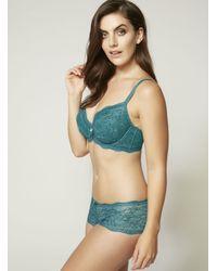 Boux Avenue - Blue Chloe Contrast Lace Shorts - Lyst