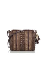 Brahmin - Brown Carrie Crossbody Dorati - Lyst