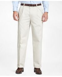 Brooks Brothers | Natural Elliot Advantage Chinos® for Men | Lyst