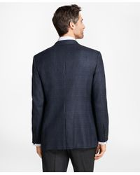 Brooks Brothers - Blue Madison Fit Check With Bold Deco Sport Coat for Men - Lyst