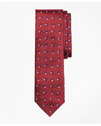 Brooks Brothers - Red Square-diamond Silk Tie for Men - Lyst