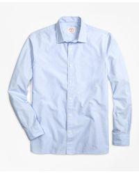 Brooks Brothers - Blue Nine-to-nine Shirt for Men - Lyst