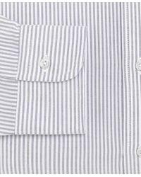 Brooks Brothers - Blue Milano Fit Stripe Dress Shirt for Men - Lyst
