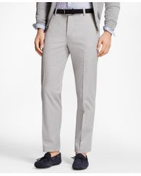 Brooks Brothers - Gray Milano Fit Houndstooth Advantage Chinos® for Men - Lyst