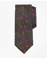 Brooks Brothers - Purple Ancient Madder Paisley Print Tie for Men - Lyst
