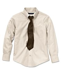 Brooks Brothers - Natural Non-iron Supima® Pinpoint Cotton Dress Shirt for Men - Lyst