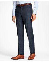 Brooks Brothers - Blue Regent Fit Plaid 1818 Suit for Men - Lyst