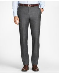 Brooks Brothers - Gray Regent Fit Open Plaid 1818 Suit for Men - Lyst