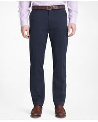 Brooks Brothers - Blue Milano Advantage Chinos® for Men - Lyst