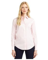 Brooks Brothers | White Non-iron Classic-fit Dress Shirt | Lyst