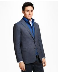 Brooks Brothers - Blue Regent Fit Hopsack Sport Coat for Men - Lyst