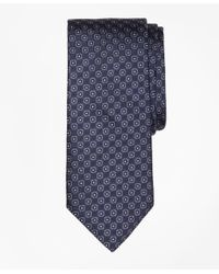 Brooks Brothers - Blue Framed Circle Tie for Men - Lyst