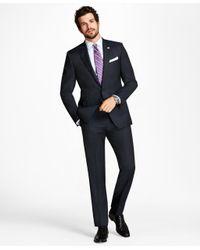 Brooks Brothers - Blue Regent Fit Tic Alternating Stripe 1818 Suit for Men - Lyst