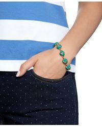 Brooks Brothers | Blue Enamel Knot Link Bracelet | Lyst