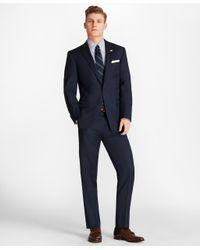 Brooks Brothers - Blue Regent Fit Saxxontm Wool Bead Stripe 1818 Suit for Men - Lyst