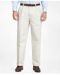 Brooks Brothers   Natural Elliot Advantage Chinos® for Men   Lyst