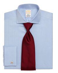 Brooks Brothers   Blue Golden Fleece® Madison Fit Herringbone French Cuff Dress Shirt for Men   Lyst