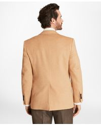 Brooks Brothers - Natural Regent Fit Camel Hair Sport Coat for Men - Lyst