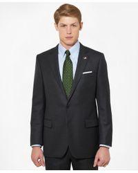 Brooks Brothers - Gray Regent Fit Saxxontm Wool Tic 1818 Suit for Men - Lyst