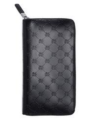 Brooks Brothers | Black Golden Fleece® Embossed Travel Wallet for Men | Lyst