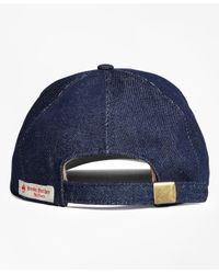 Brooks Brothers - Blue Baseball Cap for Men - Lyst