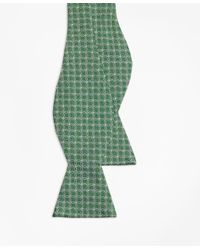 Brooks Brothers - Green Parquet Link Bow Tie for Men - Lyst