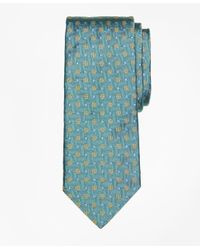 Brooks Brothers - Green Parquet Flower Tie for Men - Lyst