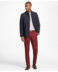 Brooks Brothers - Multicolor Milano Fit Piece-dyed Supima® Cotton Stretch Chinos for Men - Lyst