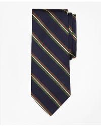 Brooks Brothers | Blue Split Bar Stripe Tie for Men | Lyst