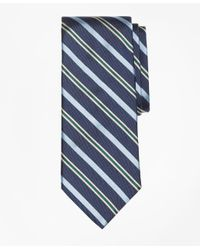 Brooks Brothers | Blue Tonal Alternating Split Stripe Tie for Men | Lyst