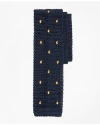Brooks Brothers | Blue Tossed Pine Knit Tie for Men | Lyst