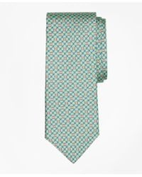 Brooks Brothers   Green Flag And Raft Print Tie for Men   Lyst