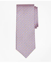 Brooks Brothers   Pink Flag And Raft Print Tie for Men   Lyst