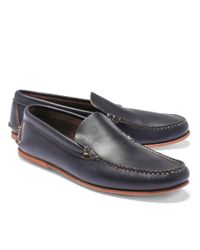 9b0f481f2dc Brooks Brothers Rancourt   Co American Loafers in Blue for Men - Lyst