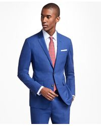 Brooks Brothers   Milano Fit Brookscool® Bright Blue Suit for Men   Lyst
